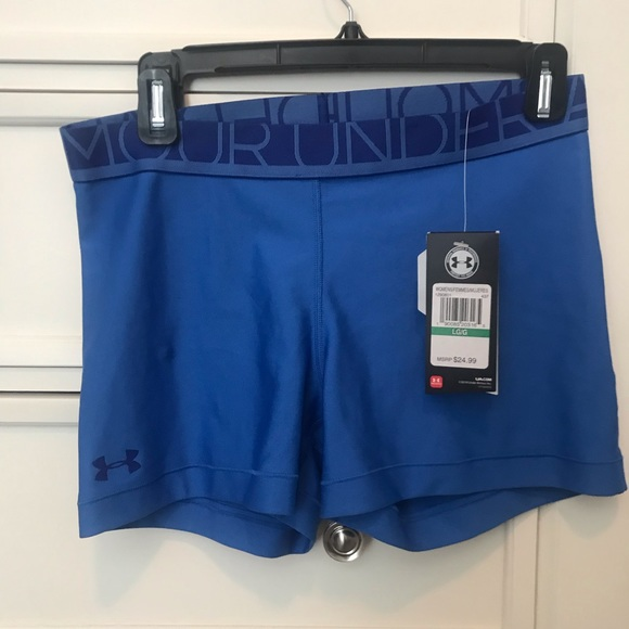 8017b82751 Underarmour women's heat gear shorts size Large NWT